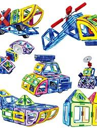 Недорогие -Магнитный конструктор 110 pcs трансформируемый Детские Подарок Высокое качество