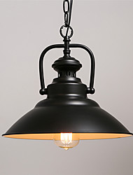 cheap -Northern Europe vintage Industry Black Metal pendant lights Dining Room Living Room Kitchen light Fixture