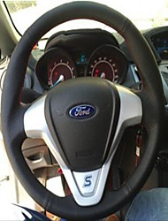 cheap -Automotive Steering Wheel Covers(Leather)For universal Ford General Motors Fiesta