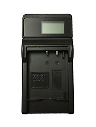 baratos -ismartdigi bcg10e lcd usb camera battery charger for panasonic bcg10e bcg10e bateria