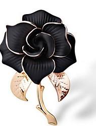 Недорогие -Жен. Броши Бижутерия Классика Мода Elegant Сплав Цветы Бижутерия Назначение Повседневные Официальные