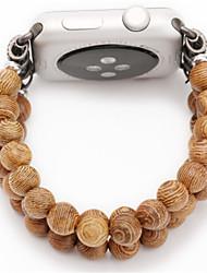 Недорогие -Ремешок для часов для Apple Watch Series 3 / 2 / 1 Apple Дизайн украшения Дерево Повязка на запястье