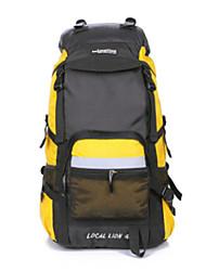Недорогие -45 L Рюкзаки / Заплечный рюкзак - Пригодно для носки На открытом воздухе Пешеходный туризм, На открытом воздухе, Походы полиэстер для печати, Водонепроницаемая ткань, Нейлон Розовый, Камуфляжный, Хаки