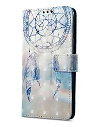 cheap -Case For Xiaomi Redmi Note 5A Redmi Note 4X Card Holder Wallet with Stand Flip Magnetic Pattern Full Body Dream Catcher Hard PU Leather