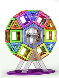 preiswerte -Magnetische Bauklötze Spielzeuge Klassisch Transformierbar Klassisch Weicher Kunststoff 109 Stücke
