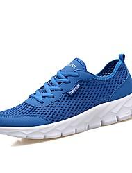 economico -Per uomo Gomma Primavera / Autunno Comoda scarpe da ginnastica Blu scuro / Grigio scuro / Grigio chiaro