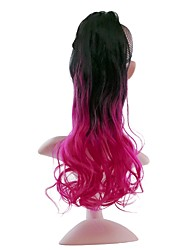 cheap -Drawstring Tie Up Synthetic Hair Hair Piece Hair Extension Curly