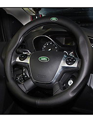 cheap -Automotive Steering Wheel Covers(Leather)For Land Rover All years Evoque Discovery Sport Range Rover Freelander 2 Discovery 3 Discovery 4