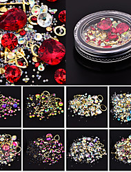 abordables -Tenue Cristal / Mode / Nail Glitter Quotidien Ensembles / Nail Art Design