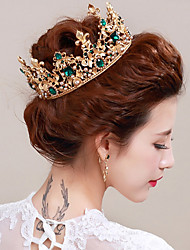 cheap -Alloy Sequin Imitation Pearl 1set Wedding Special Occasion Headpiece