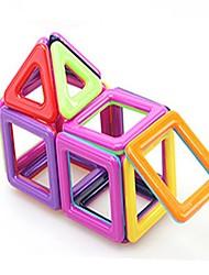 economico -Mattoncini magnetici Giocattoli Quadrato trasformabile Plastica morbida 40 Pezzi