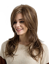 cheap -Wigs For Women Stylish Natural Curly Long Hair Synthetic Wigs
