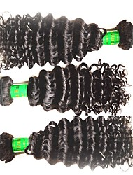 cheap -chinese hair supplier 10a indian water wave virgin human hair 3 bundles 300g lot natural black color  indian remy hair weaves