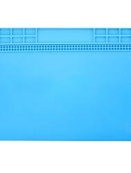 Недорогие -40 * 30 см жаростойкая силиконовая изоляция накладка тепловая пушка bga паяльная станция ремонт изолятор коврик для настольного коврика