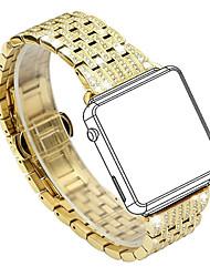 preiswerte -Uhrenarmband für Apple Watch Series 3 / 2 / 1 Apple Klassische Schnalle Edelstahl Handschlaufe