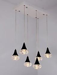 preiswerte -LED Augenschutz Pendelleuchten Raumbeleuchtung Für Schlafzimmer Studierzimmer/Büro Wärm Weiß 1320lm 110-120V 220-240V Inklusive Glühbirne
