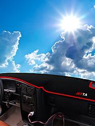 Недорогие -автомобильный Маска для приборной панели Коврики на приборную панель Назначение Volkswagen 2008 2009 2010 2011 2012 Jetta