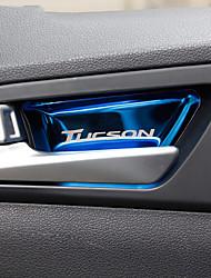 Недорогие -автомобильная крышка внутренней двери diy интерьер автомобиля для hyundai все годы 2015 2016 2017 новый tucson stailess steel