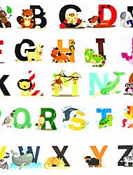 Недорогие -Игрушка для обучения чтению Семья / Животный принт Милый / утонченный / Ручная работа Мягкие пластиковые Детские / Взрослые Подарок 3 pcs