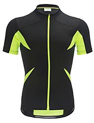 Jaggad Muškarci Žene Kratkih rukava Biciklistička majica Bicikl Biciklistička majica, Quick dry, Prozračnost