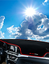 abordables -Automobile Matrice de tableau de bord Tapis Intérieur de Voiture Pour Hyundai Toutes les Années Elantra
