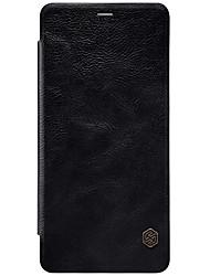 economico -Custodia Per Samsung Galaxy A8 Plus 2018 A8 2018 Porta-carte di credito Con chiusura magnetica Integrale Tinta unica Resistente Similpelle