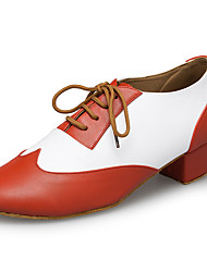 "cheap -Men's Latin Leather Sneaker Training Trim Low Heel Orange 1"" - 1 3/4"" Customizable"