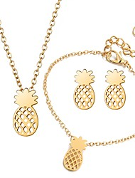 cheap -Women's Jewelry Set - Fashion Include Gold / Silver For Daily / Earrings