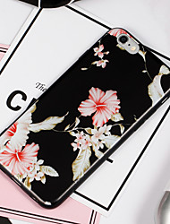 cheap -Case For Apple iPhone 8 iPhone 8 Plus Pattern Back Cover Flower Soft TPU for iPhone 8 Plus iPhone 8 iPhone 7 Plus iPhone 7 iPhone 6s Plus