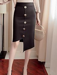 preiswerte -Damen Schick & Modern Bodycon Röcke - Solide