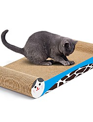 cheap -Cat Toy Pet Toys Scratch Art Paper & Papercrafting Art Prints Multi Color Scratch Pad Help to lose weight High quality paper Catnip