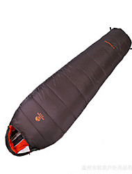 abordables -Sac de couchage De plein air Simple 10 °C Sac Momie Duvet de canard Pare-vent Etanche Portable Bonne ventilation Pliable Scellé pour Camping Voyage Extérieur Intérieur Printemps Eté Automne 230*100 cm