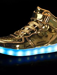 cheap -LED Light Up Shoes, Men's Sneakers Spring / Fall Flats Tulle Casual Flat Heel  /  Blue / Red / Gray