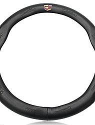 Недорогие -автомобильные крышки рулевого колеса (кожа) для cadillac все годы xt5 atsl xts ct6 cts srx