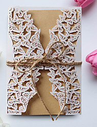 cheap -Gate-Fold Wedding Invitations 50pcs-Mother's Day Cards Invitation Cards Baby Shower Cards Bridal Shower Cards Engagement Party Cards