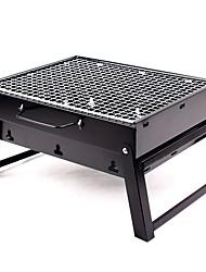 Недорогие -Походная горелка Все для приготовления пищи на улице 1 Складной за 3-4 человека Нержавеющая сталь на открытом воздухе Походы Черный