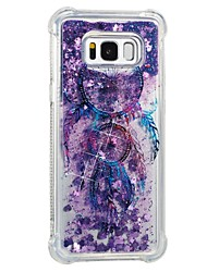 cheap -Case For Samsung Galaxy S8 Plus S8 Shockproof Flowing Liquid Pattern Back Cover Dream Catcher Soft TPU for S8 Plus S8 S7 edge S7