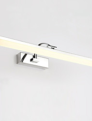 cheap -70cm Modern 16W LED Mirror Lamp Bathroom Lights AC100-240V Stainless And Acrylic Wall Lights Make-Up Lighting