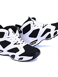 cheap -Men's Shoes Breathable Mesh Spring Fall Comfort Athletic Shoes Basketball Shoes for Outdoor Black/White Red Black