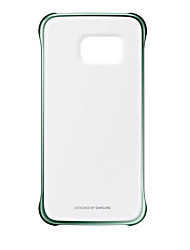 cheap -Case For Samsung Galaxy Note 8 Note 5 Plating Transparent Back Cover Solid Color Hard PC for Note 8 Note 5