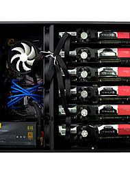 cheap -XieShou ETH ZEC Miner Mining Machine ETH180 GTX1070*6