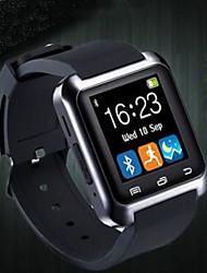 abordables -Couple Remontage automatique Montre Bracelet Chinois Bluetooth Etanche Pédomètres Montre Décontractée Chronomètre Silikon Bande Luxe Mode