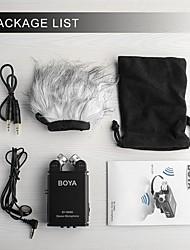 preiswerte -boya by-sm80 für Kamera-Camcorder-Mikrofon mit Windschutzscheibe Stereo-Recorder