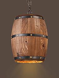 cheap -Vintage Pendant Light Downlight For Shops/Cafes 220-240V 110-120V Bulb not included