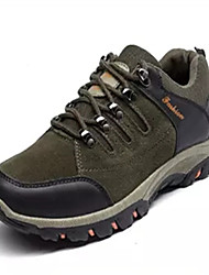 cheap -Women's Shoes Tulle Spring Summer Fall Comfort Hiking Shoes Flat Heel for Outdoor Black Dark Silver Gray Green
