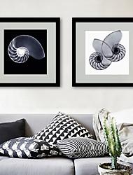abordables -Abstrait Animaux Illustration Art mural,PVC Matériel Avec Cadre For Décoration d'intérieur Cadre Art Salle de séjour Chambre à coucher