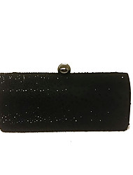 cheap -Bags Metal Evening Bag Crystals for Wedding / Event / Party Black