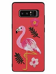 preiswerte -Hülle Für Samsung Galaxy Note 8 Muster Flamingo Tier Weich für