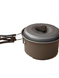 baratos -Panela para Acampamento Utensílios para cozinha ao ar livre Vestível Liga de Metal Aço de Carbono para Campismo