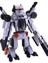 cheap -Robot Building Blocks Toys Transformable Super Heroes Classic Soft Plastic Children's Pieces